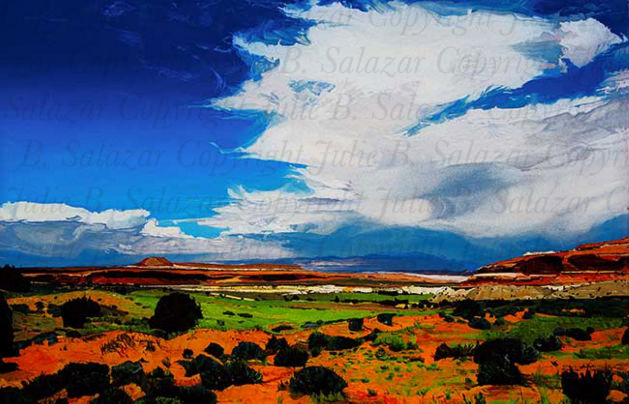 A Force of Nature - Southwest Landscape Print Series