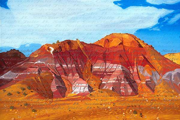 A Symphony in Color - Southwest Landscape Print Series