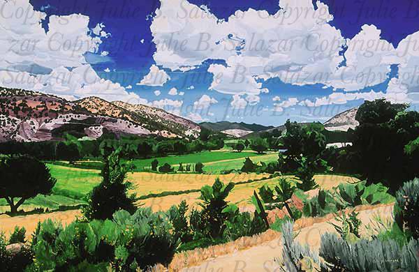 An Abundant Life - Southwest Landscape Print Series