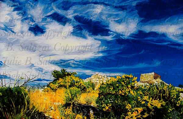 Between Earth and Sky - Southwest Landscape Print Series