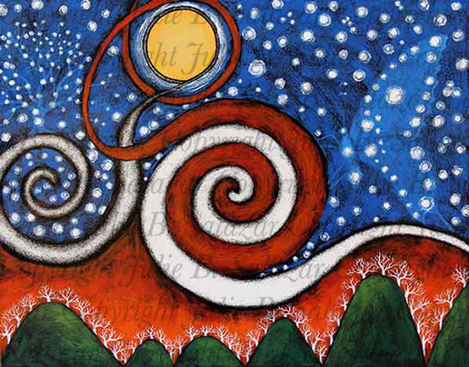 Glory - Inner Landscape Print Series