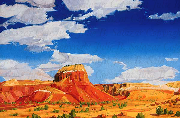 Grace and Beauty - Southwest Landscape Print Series