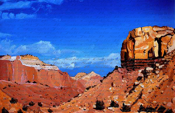 Into The Canyon - Southwest Landscape Print Series