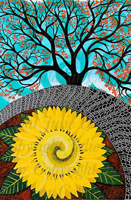 Rejoice - Inner Landscape Print Series