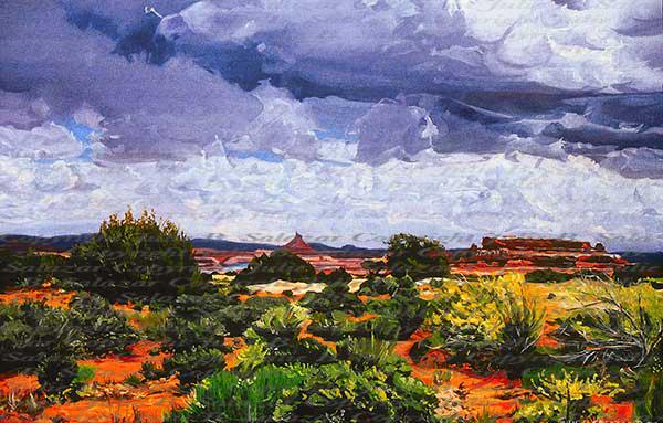Renewal - Southwest Landscape Print Series