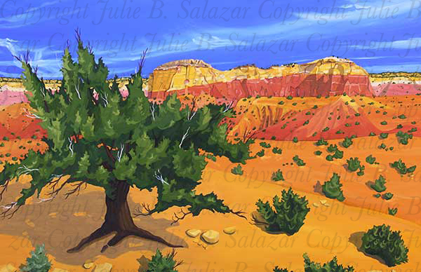 Silent Space - Southwest Landscape Print Series