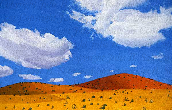 Simple Pleasure - Southwest Landscape Print Series