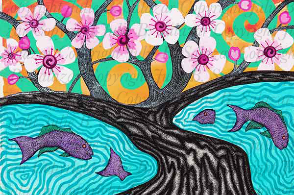 Spring Blossoms - Inner Landscape Print Series