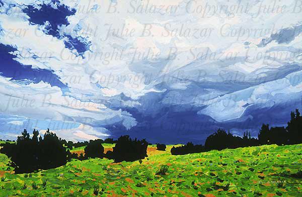 Summer Storm - Southwest Landscape Print Series