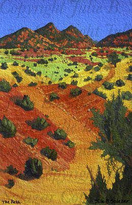 The Path - Southwest Landscape Print Series